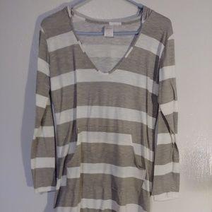 Merona light weight long sleeve dress hoodie